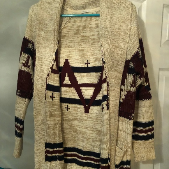 Forever 21 Sweaters - Tribal Cardigan Sweater